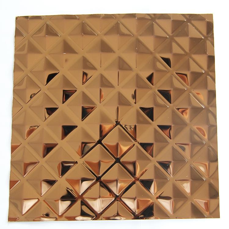 不锈钢镀色和纹板