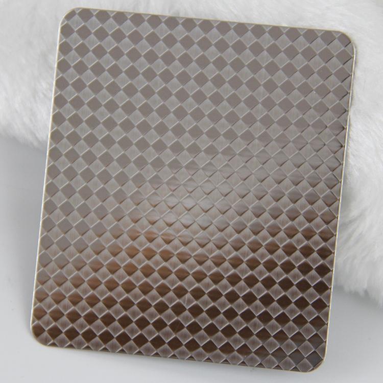 304不锈钢压花板