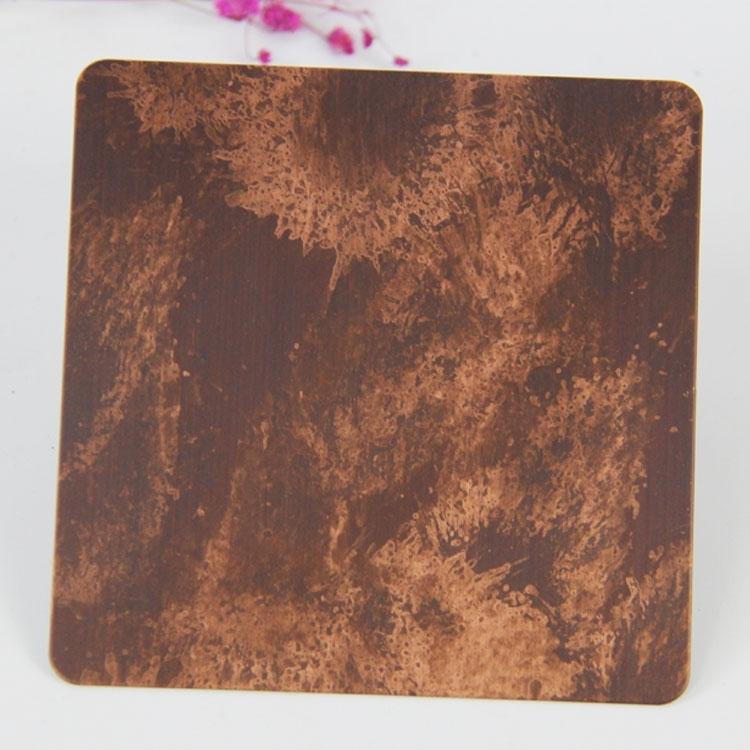 不锈钢彩板及香槟金工艺的耐蚀性